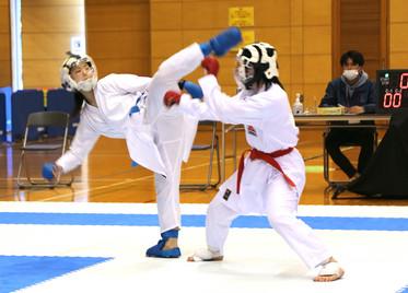小倉選手(左)