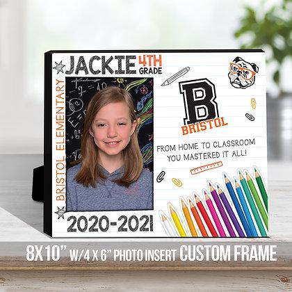 School Photo Frame