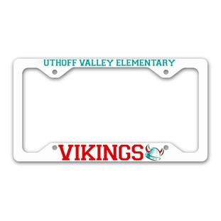 License Plate Frame: $12