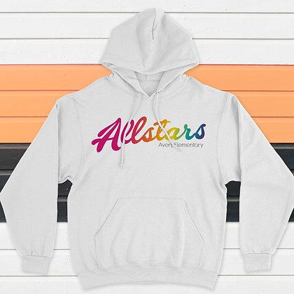 Allstar Rainbow  Hoodie