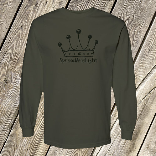 Crown Logo Long Sleeve Tees