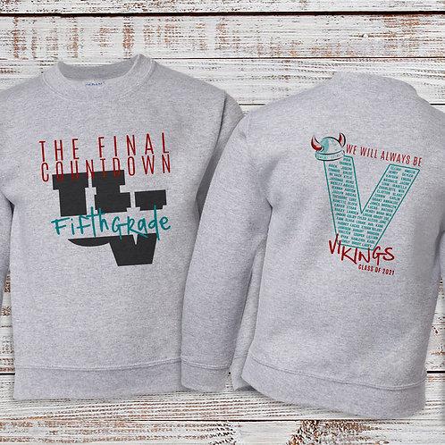 5th Grade Crew Sweatshirt