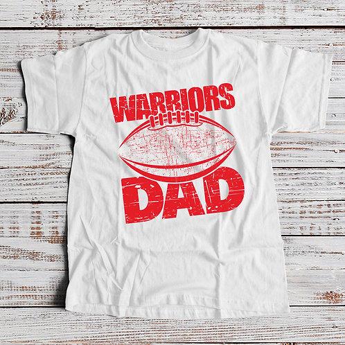 Warriors Dad Light Colors