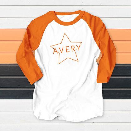 Avery Star Raglan