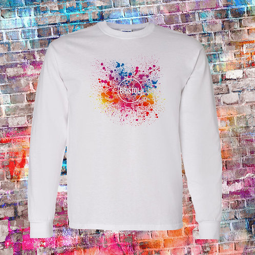 Splatter Long Sleeve Tee