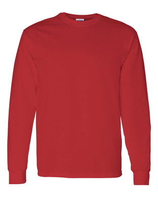 Colored Long Sleeve: $12.50