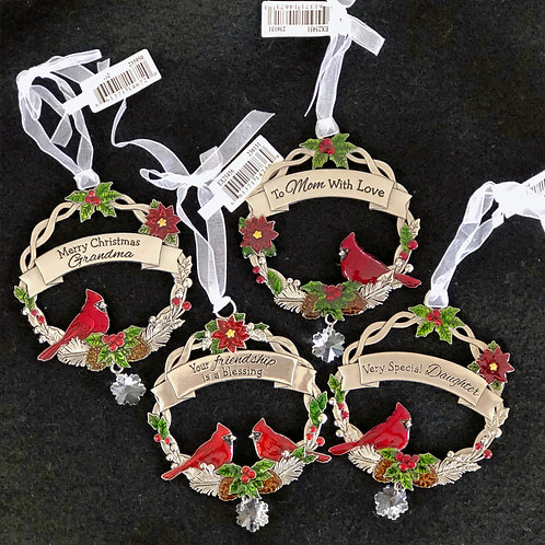 Personalized X-mas Ornaments