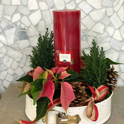 Holiday Candlelight Centerpiece