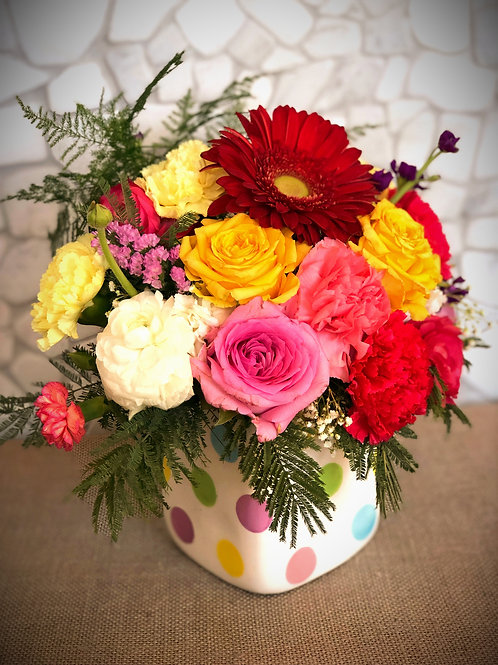 """""""Jack and Jill"""" Flower Arrangment"""
