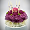 """Thumbnail: """"Someone I love was born today"""" Floral Cake"""