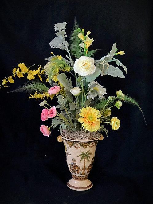 Lovely Silk Flower Arrangment
