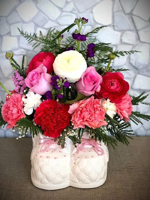 """""""Twinkle Twinkle Little Star"""" Floral Arrangment"""