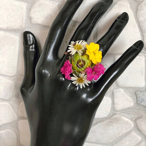 Girl's Fresh Flower Ring