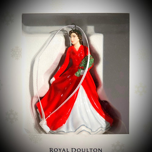 Royal Doulton Ornament - Lady In Red