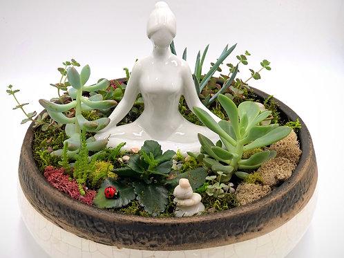 Meditation Dish Garden