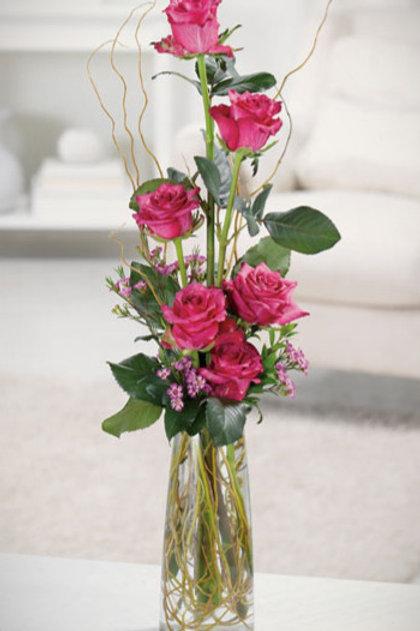 Sweet Half Dozen in a Vase