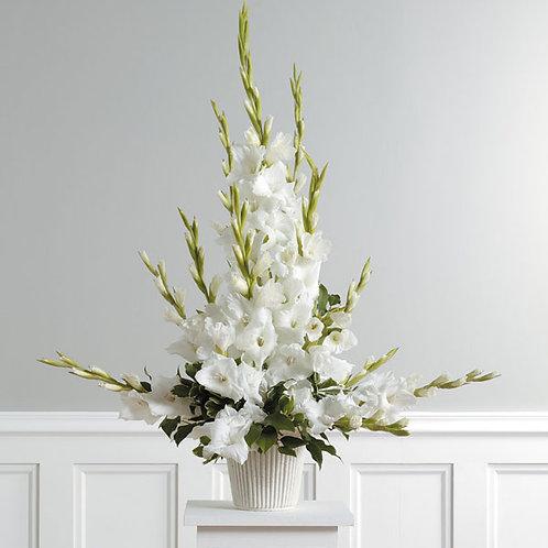 """Live Life In Full Bloom"" Gladiolus Arrangement"