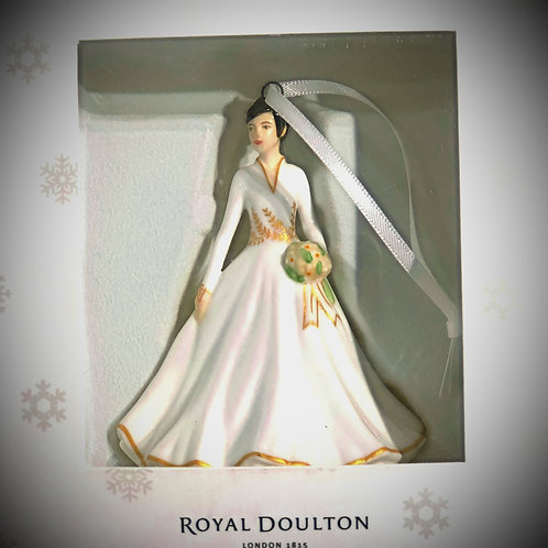 Royal Doulton Ornament - Lady in White