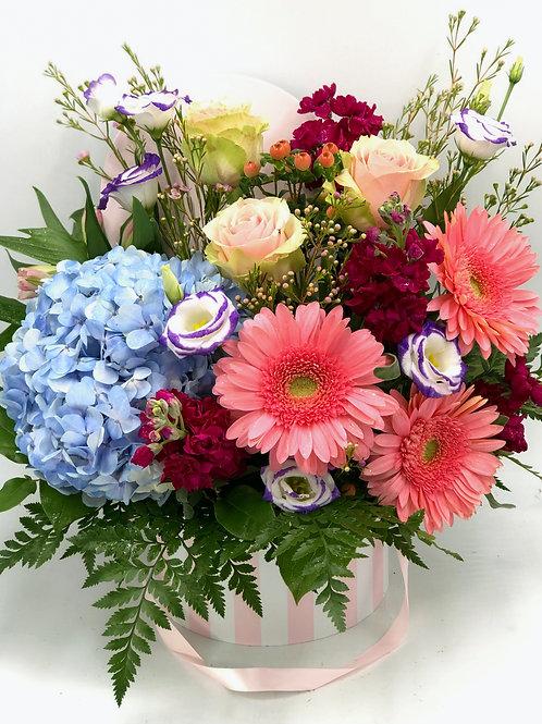 Large Box Full Of Flowers