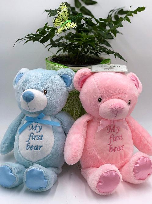 """My First Bear"" Soft Plush"