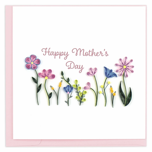Quilling Card - Happy Mother's Day