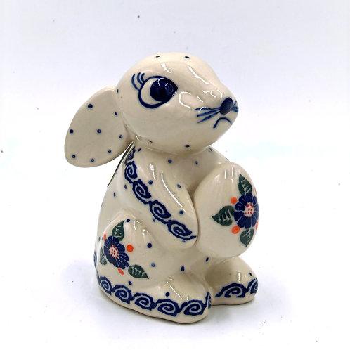 Hopping Ceramic Bunny