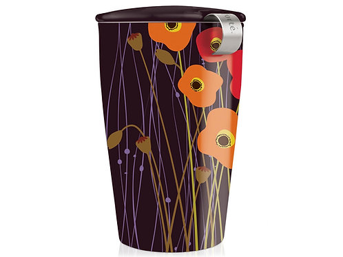 KATI® Steeping Cup & Infuser - Poppy fields