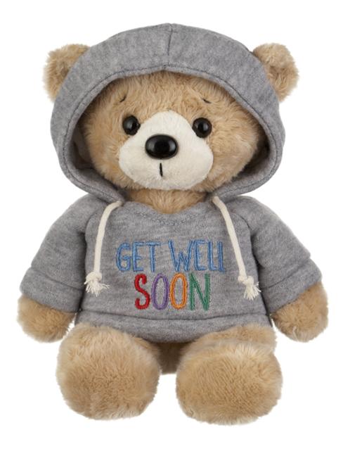 Hoodie Bear - Get Well Soon