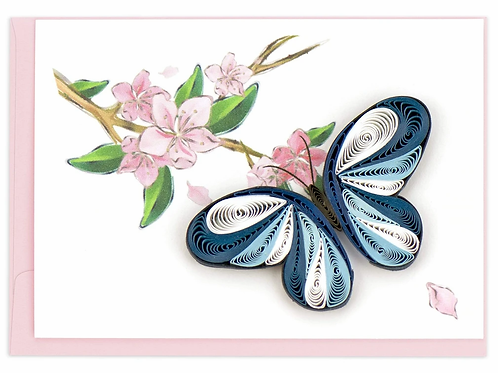 Quilling Enclosure Card - Butterfly
