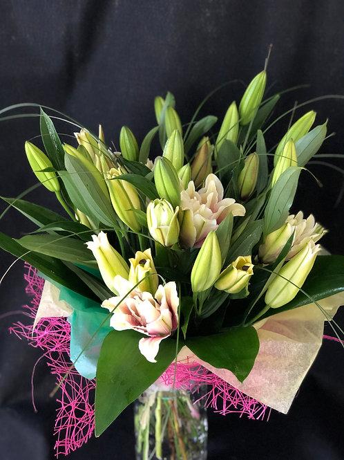 Dozen Mixed Lilies