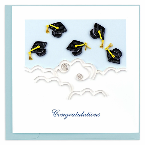 Quilling Card - Congratulations with Graduation
