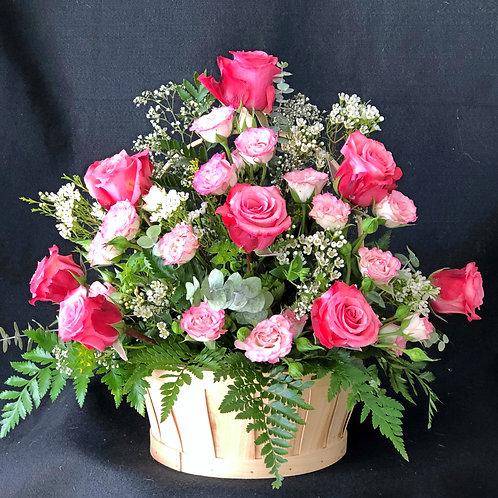 Sweet Flower Basket