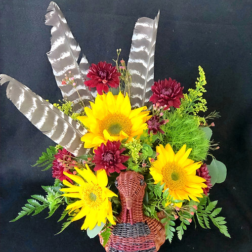 Sunny Turkey Basket