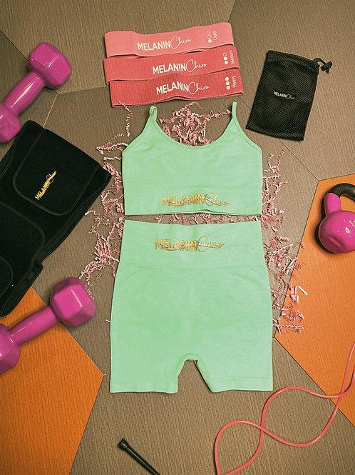 Amazonite 2-Piece Workout Set