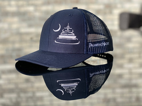 PYM Trucker Hat Navy
