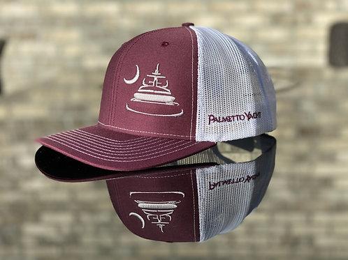 PYM Trucker Hat Maroon