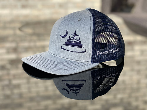 Trucker Hat Heather Grey/Navy