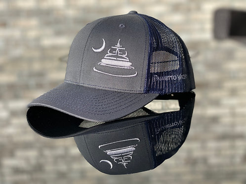 PYM Trucker Hat Charcoal/Navy