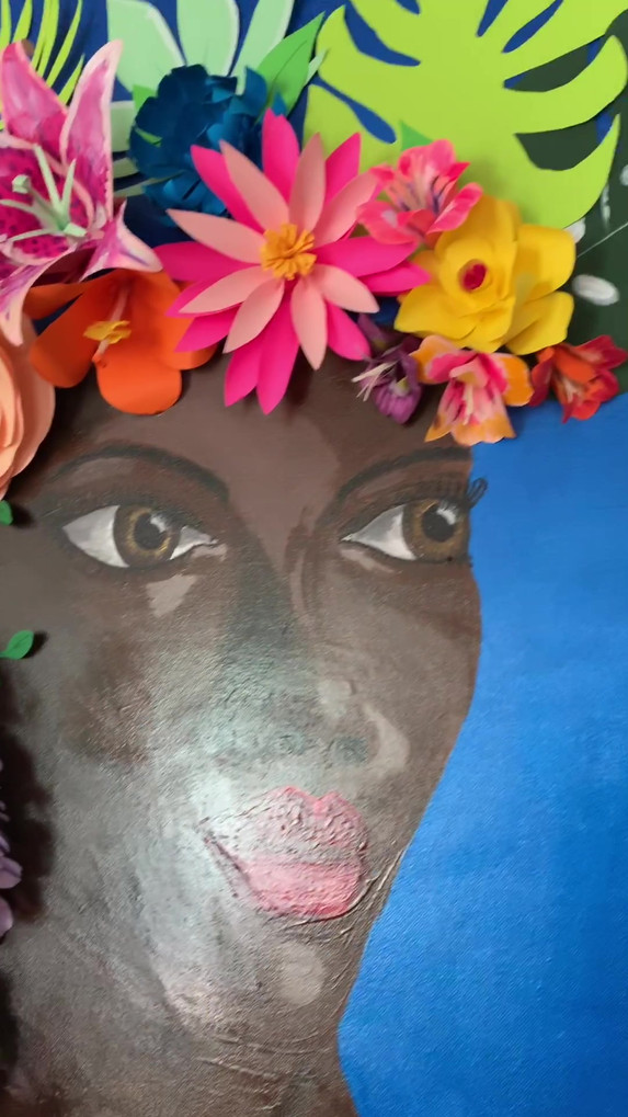 the blossoming woman 3D