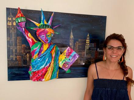 Statue of Liberty 3D