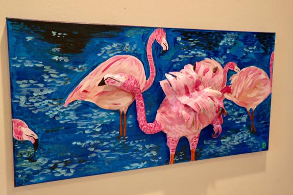 Flamingos 3D