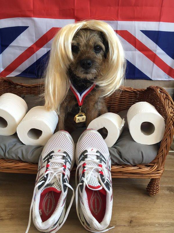 @thedottydogco with Paula Radcliffe