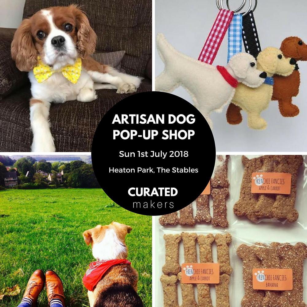 Dog products and treats made by manchester makers