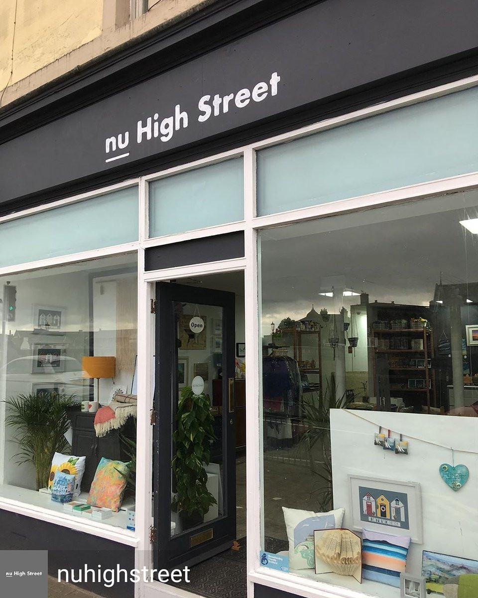 a high street store in Ayr Scotland selling handmade gifts from British craftspeople