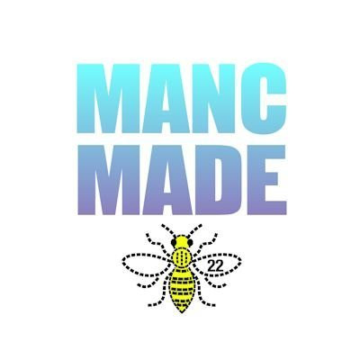 The MancMade logo with a bee motif