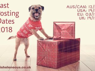 Christmas 2018 Shipping Dates