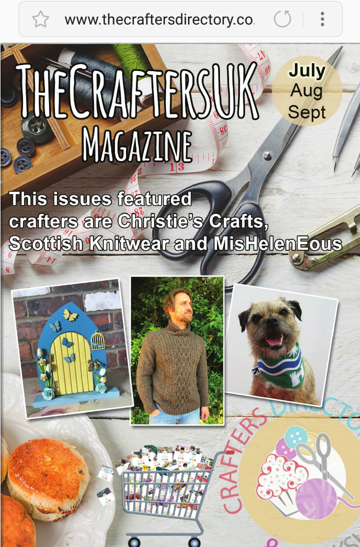 An Online Magazine featuring crafters from the UK in features and articles