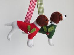 Festive Springer Spaniels