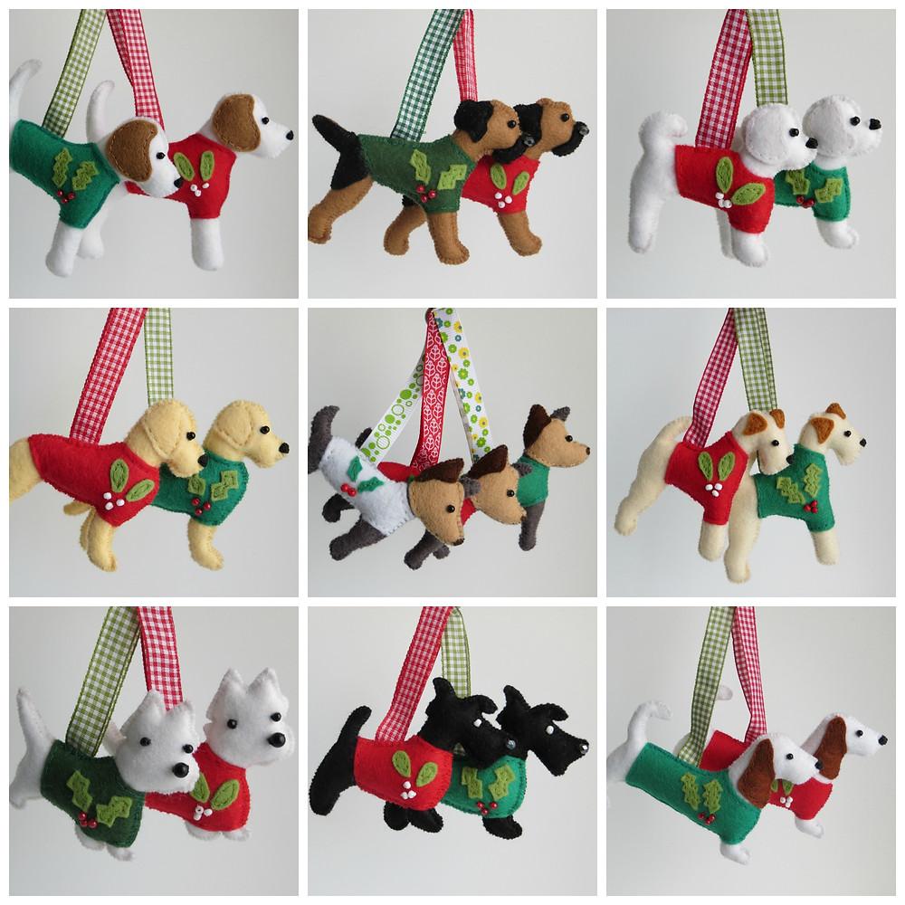 Festive Doggy Danglers