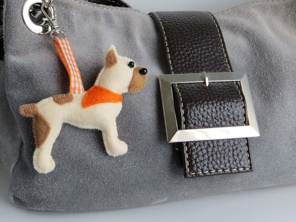Dolly the bespoke bag charm